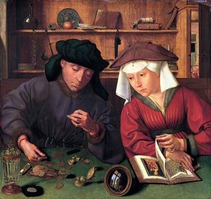 Quentin_Massys_Le preteur et sa femme_1514