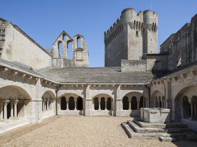 Abbaye de Montmajour, cloître